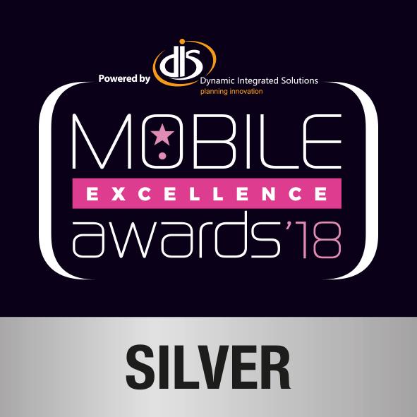 Mobile Excellence Silver Award 2018