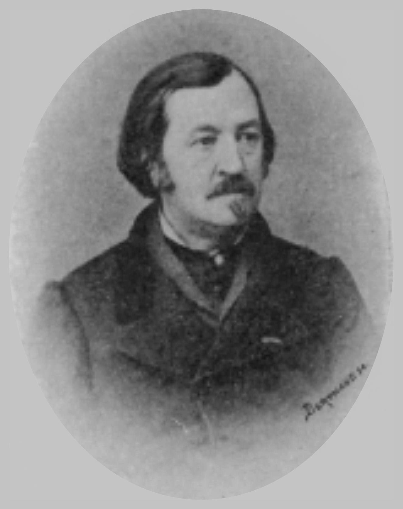Émile Burnouf (Source: Ecole Française d'Athènes/Photothèque.)